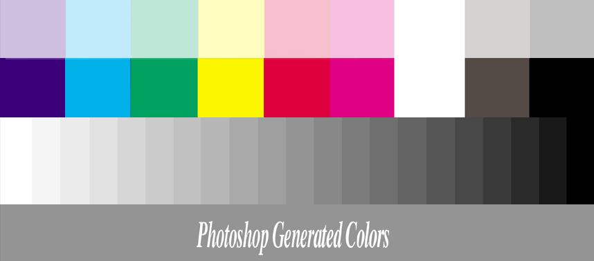 The Swatches Below Were Created Electronically In Photoshop Since They Digitally Perfect When Are Useful Determining Browser